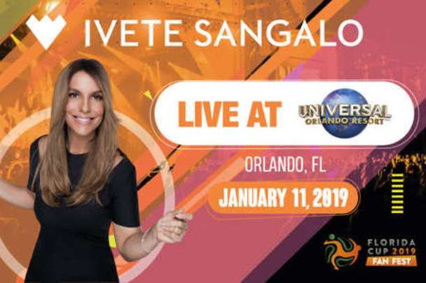 Ivete Sangalo em Orlando 2019